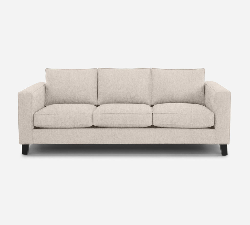 Remy 3 Seat Sofa - Kenley - Canvas