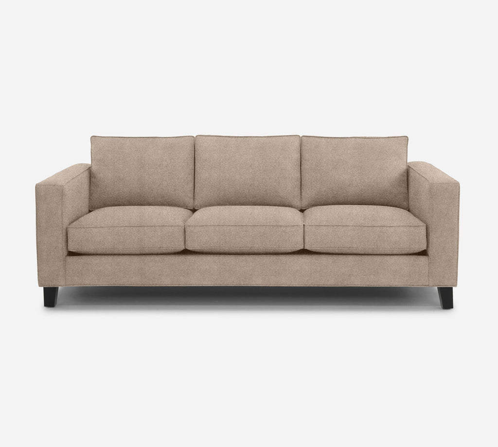 Remy 3 Seat Sofa - Passion Suede - Camel
