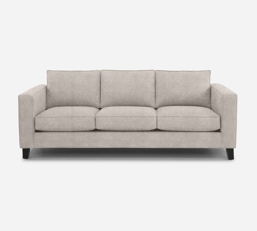 Remy 3 Seat Sofa - Passion Suede - Oyster