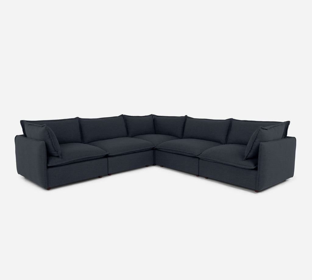 Lova Corner Sectional - Coastal - Sailor