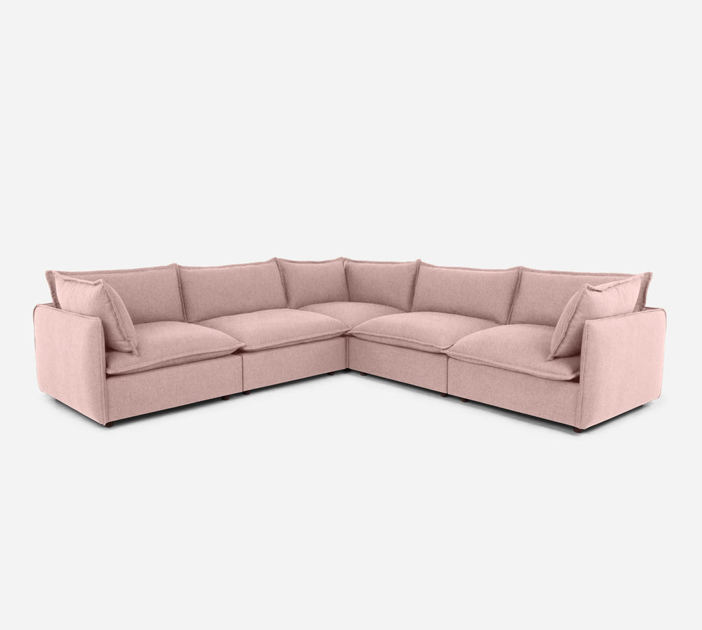 Lova Corner Sectional - Kenley - Quartz