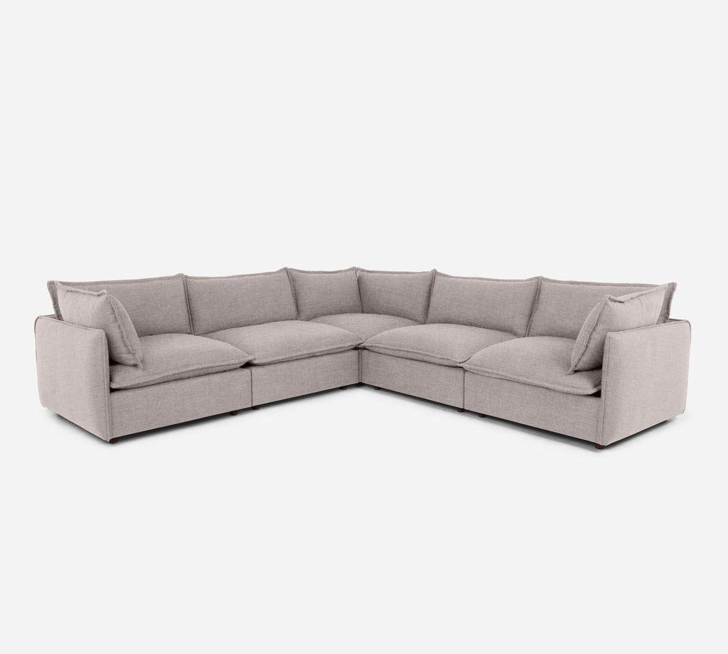 Lova Corner Sectional - Key Largo - Almond
