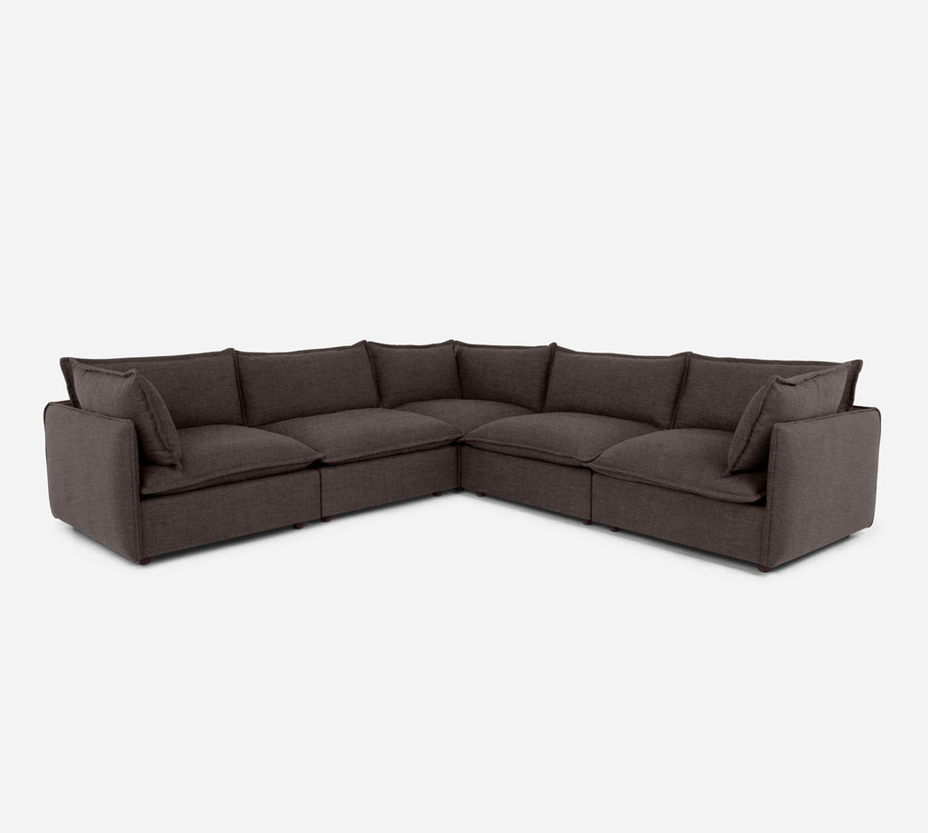 Lova Corner Sectional - Key Largo - Mocha