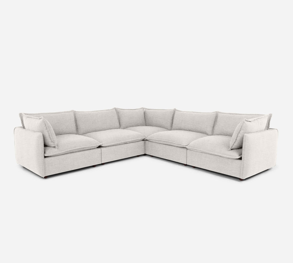 Lova Corner Sectional - Key Largo - Oatmeal