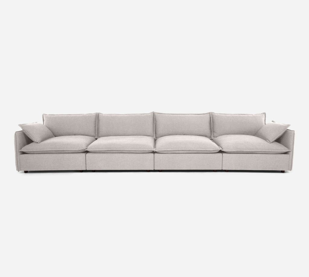 Lova 4 Seater Sectional - Coastal - Sand