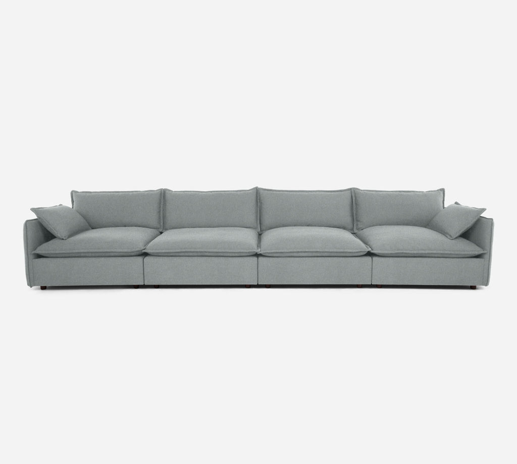 Lova 4 Seater Sectional - Dawson - Capri
