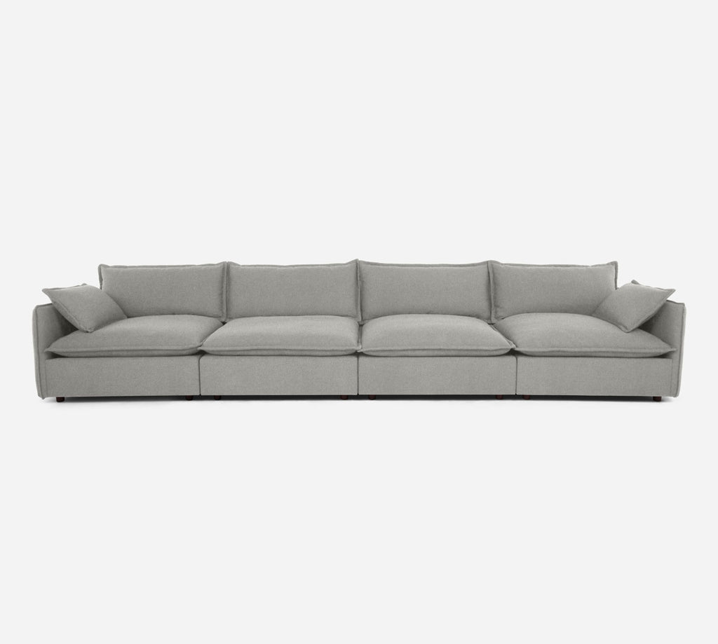 Lova 4 Seater Sectional - Dawson - Oatmeal