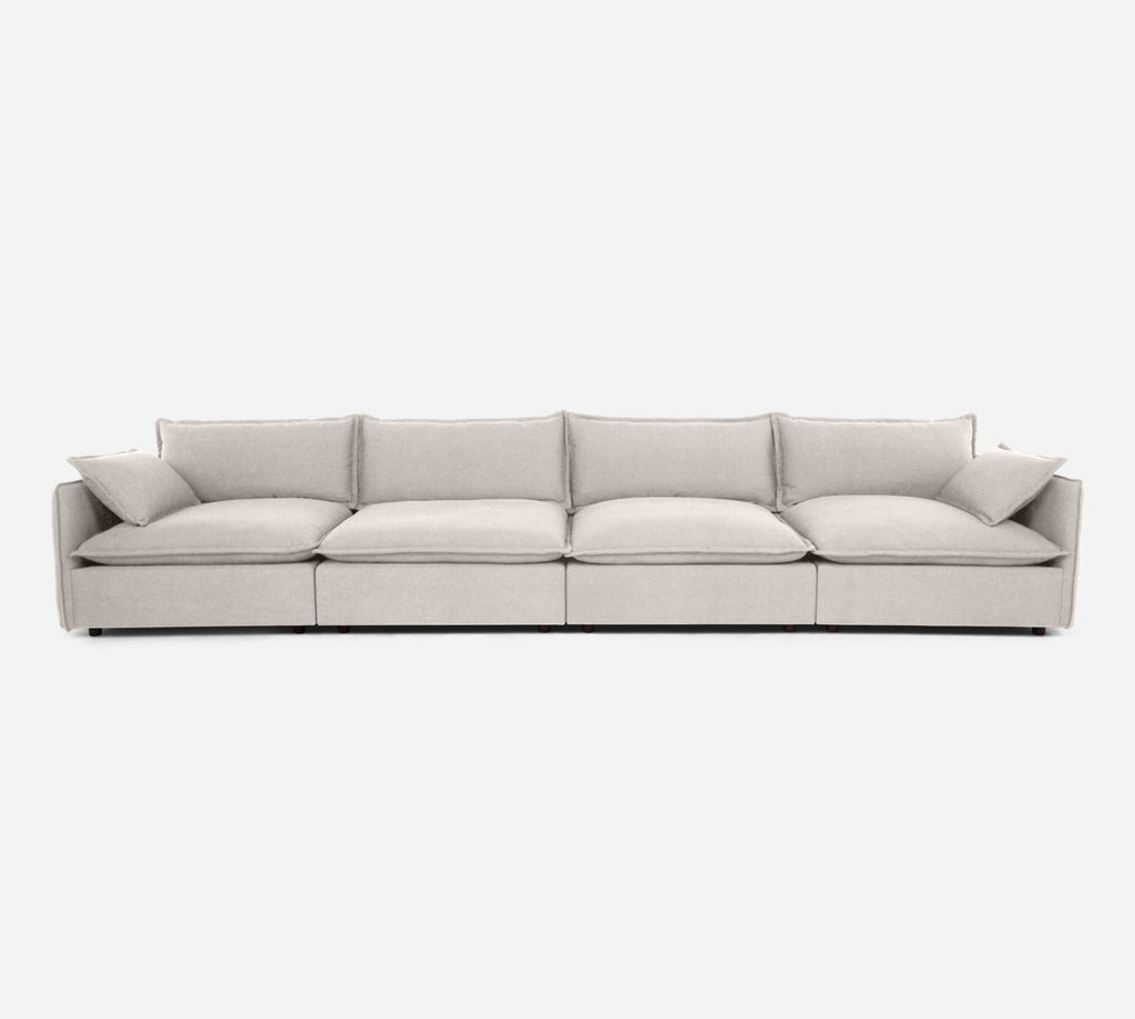 Lova 4 Seater Sectional - Heritage - Ivory