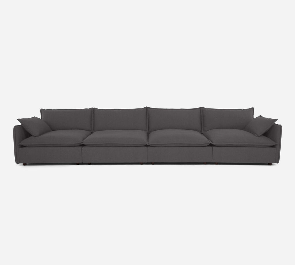 Lova 4 Seater Sectional - Kenley - Silversage