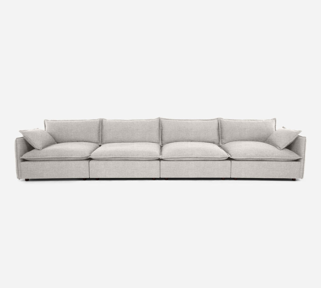 Lova 4 Seater Sectional - Key Largo - Oatmeal