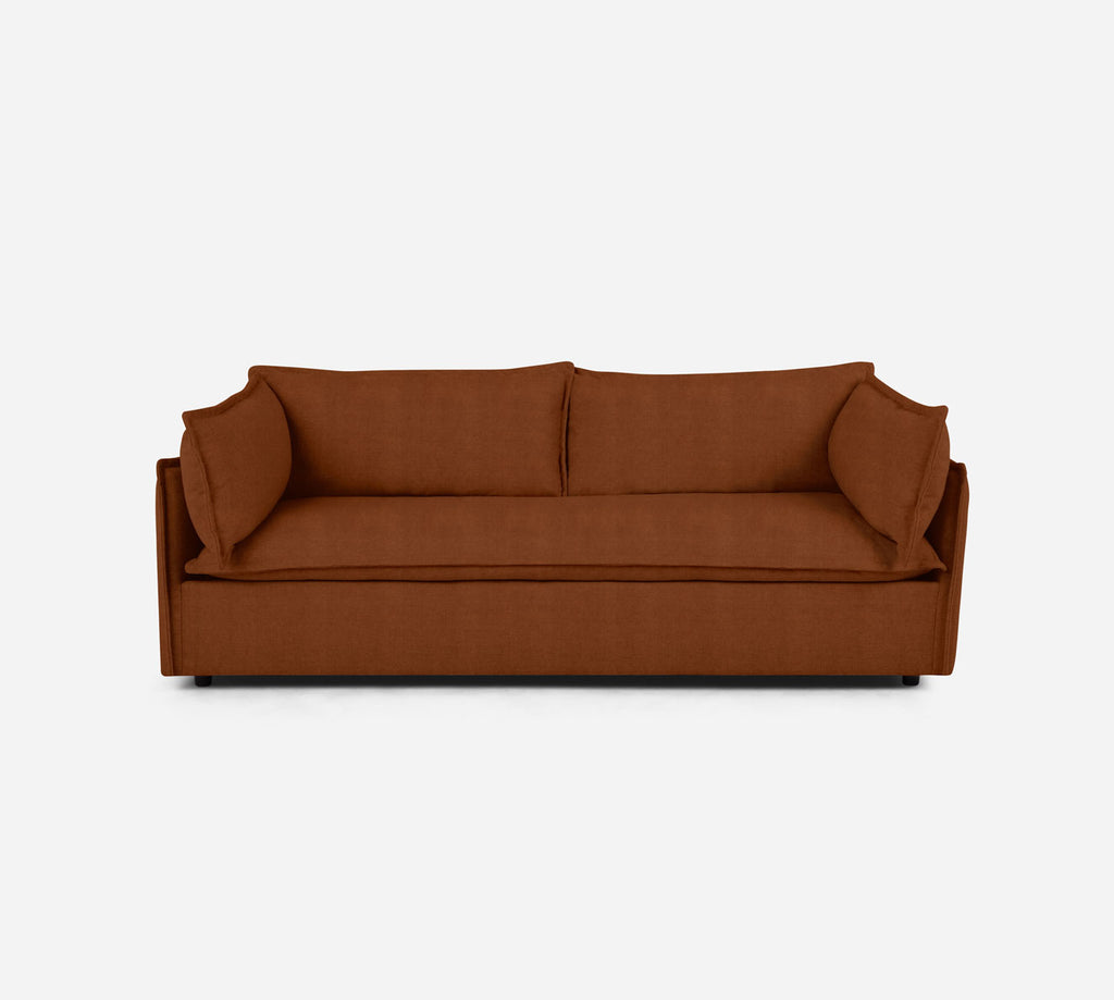 Lova Sofa - Passion Suede - Rust