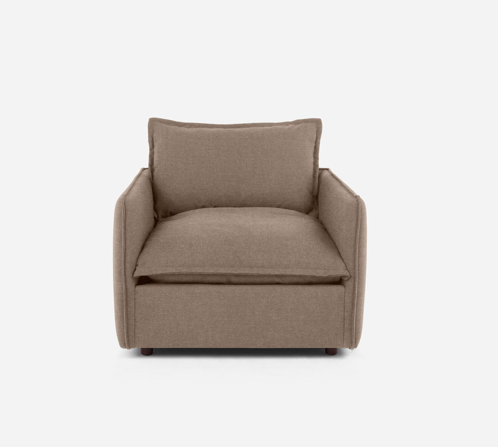 Lova Swivel Chair - Coastal - Cashew