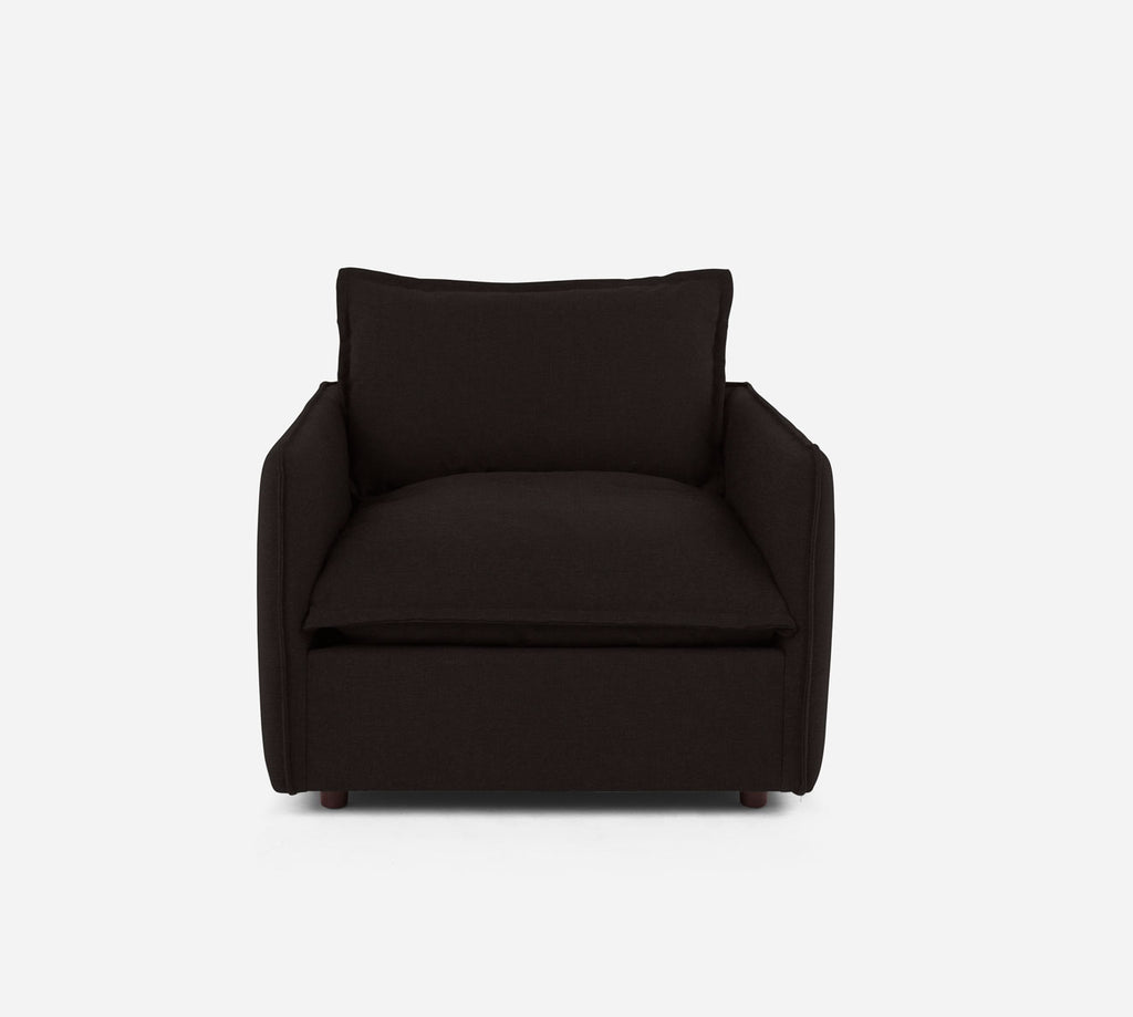 Lova Swivel Chair - Coastal - Espresso
