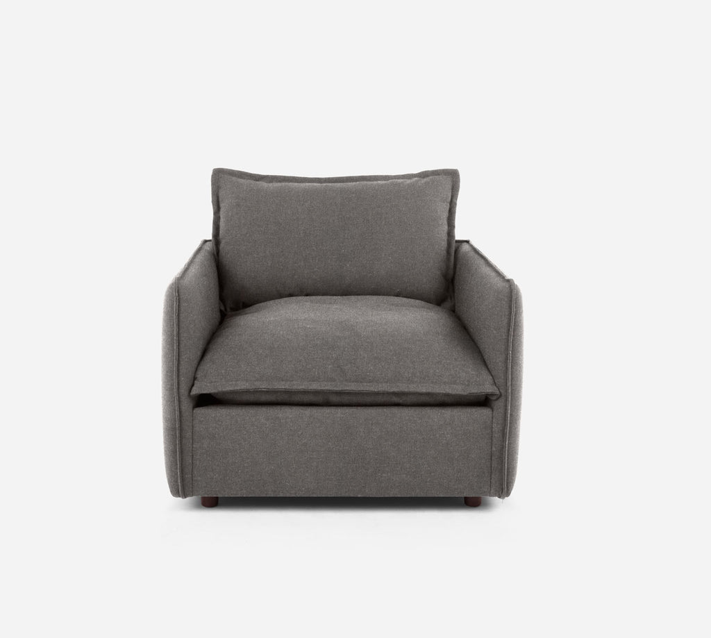Lova Swivel Chair - Dawson - Platinum