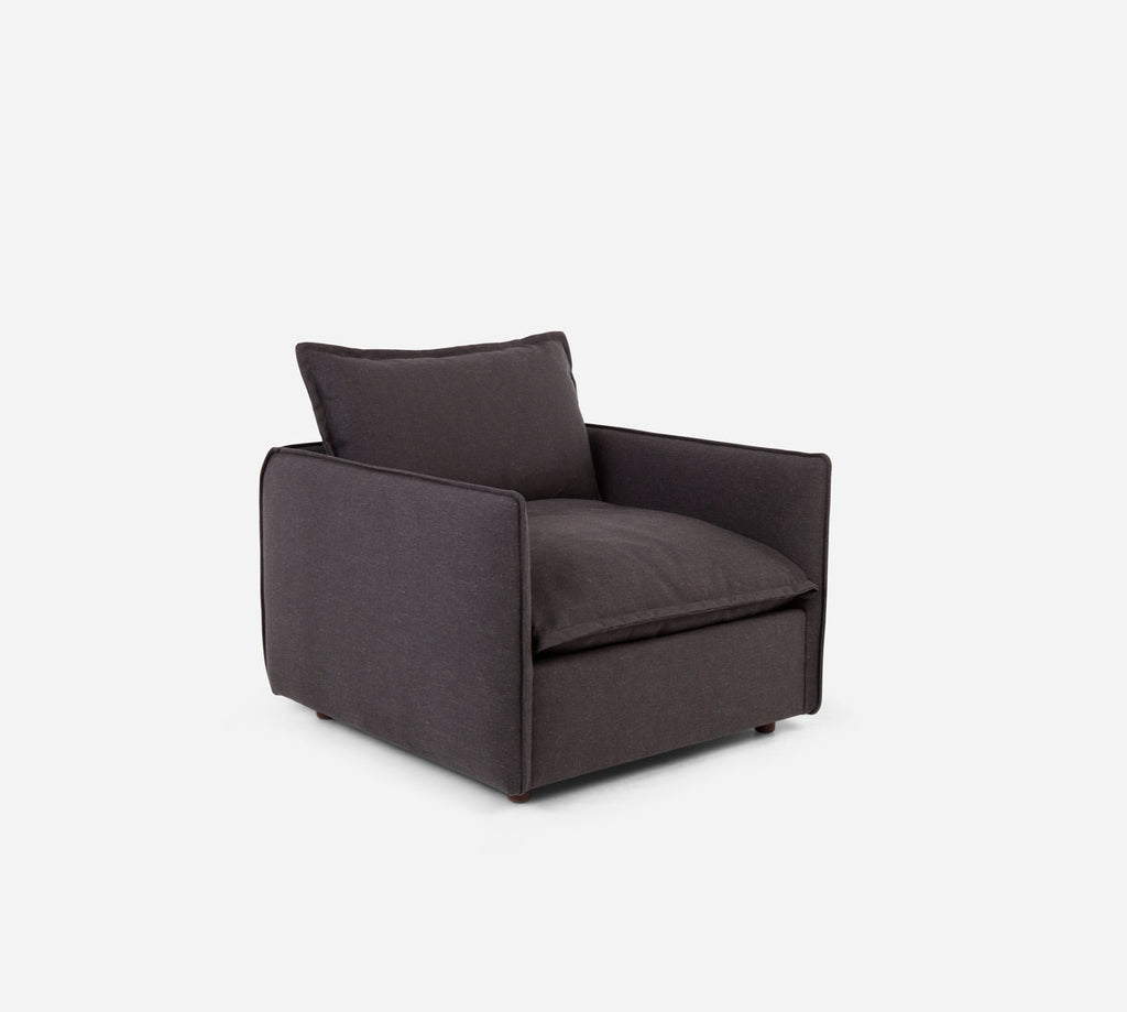 Lova Swivel Chair - Heritage - Charcoal