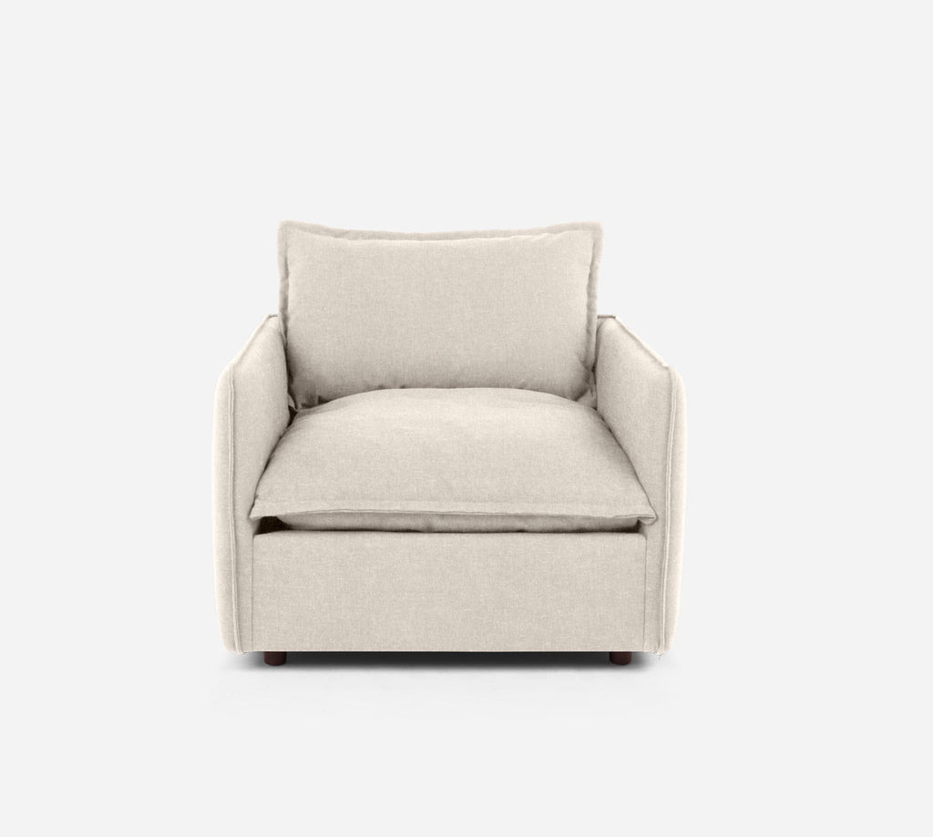 Lova Swivel Chair - Kenley - Canvas