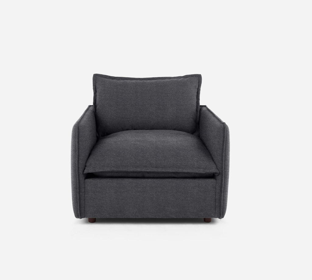 Lova Swivel Chair - Stardust - Charcoal