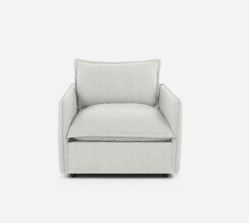 Lova Swivel Chair - Stardust - Ivory