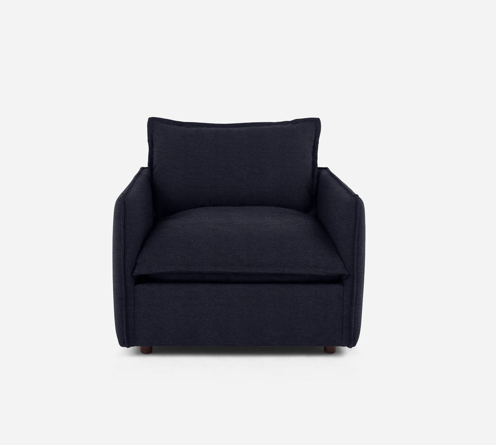 Lova Swivel Chair - Stardust - Midnight