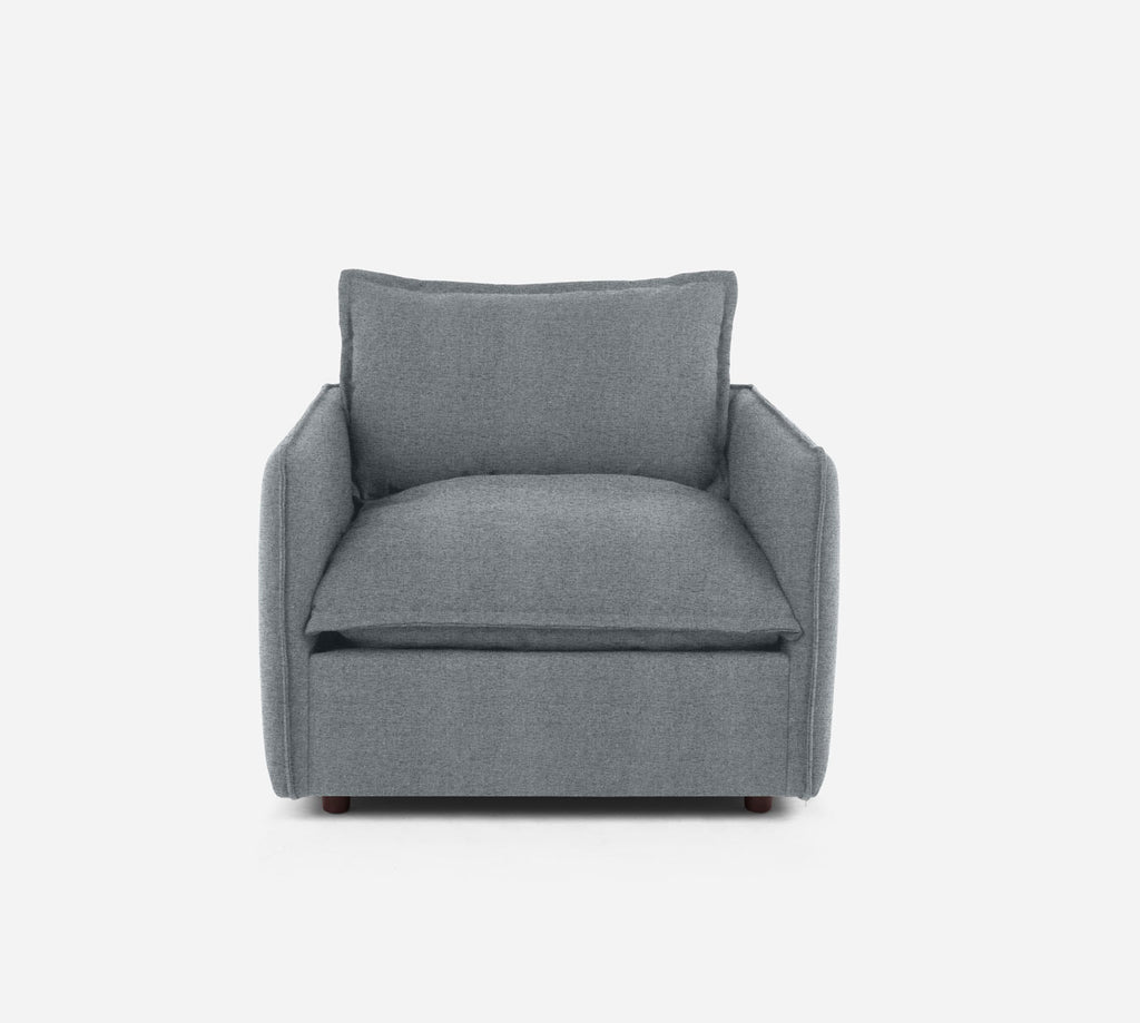 Lova Swivel Chair - Theron - Haze