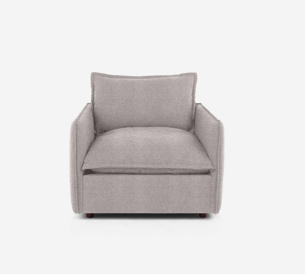 Lova Swivel Chair - Theron - Oyster