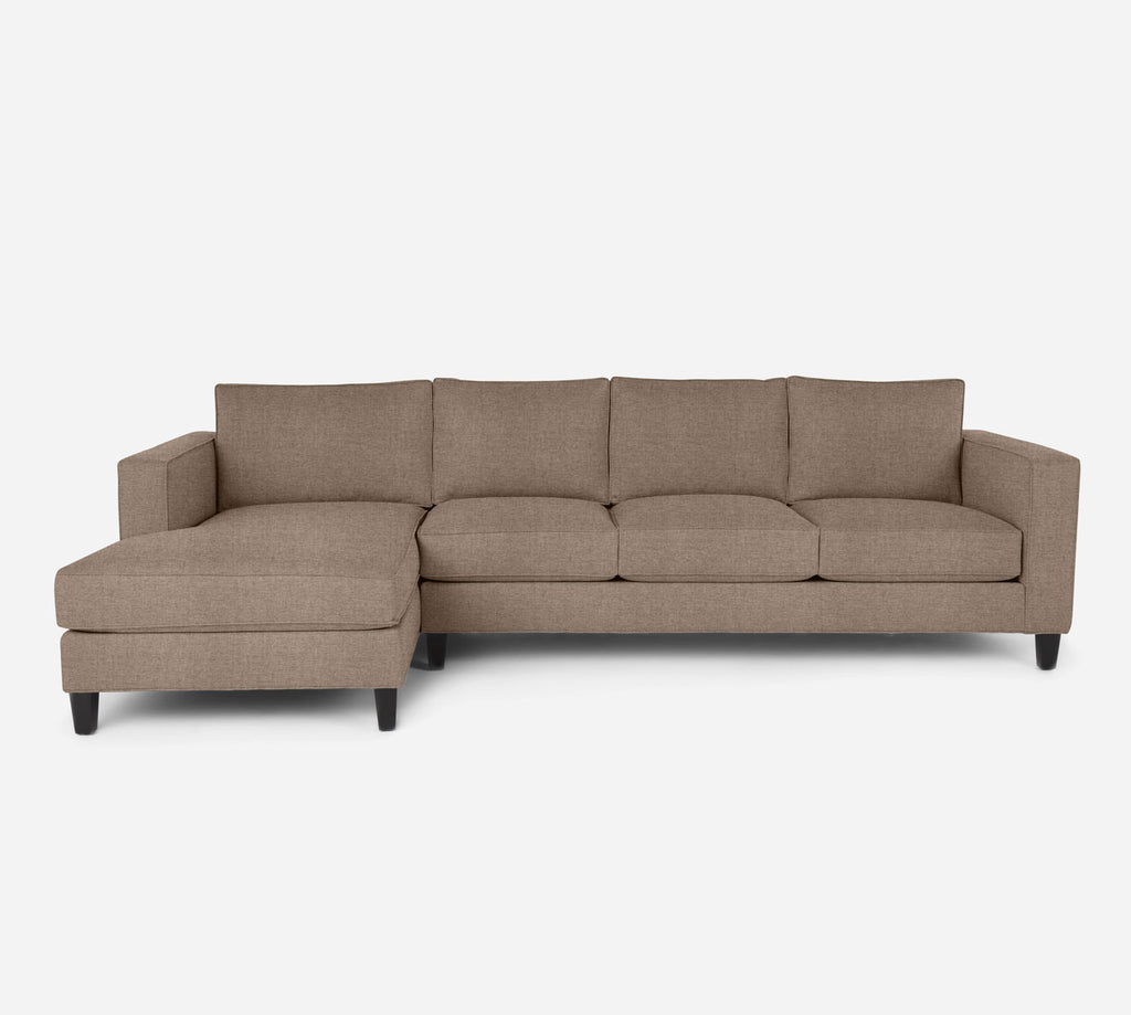 Remy LAF Chaise Sectional - Coastal - Cashew