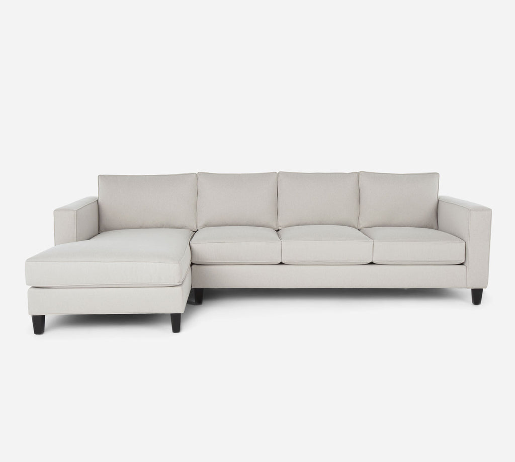 Remy LAF Chaise Sectional - Dawson - Oatmeal