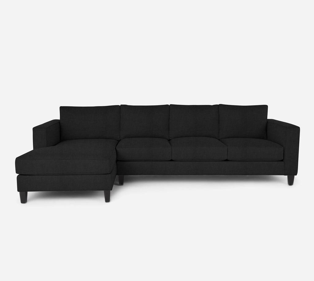 Remy LAF Chaise Sectional - Heritage - Charcoal