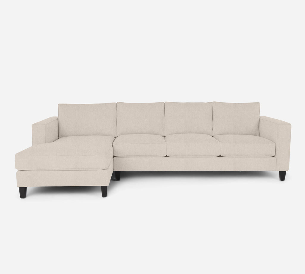Remy LAF Chaise Sectional - Kenley - Canvas