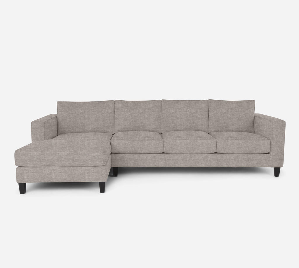 Remy LAF Chaise Sectional - Key Largo - Almond