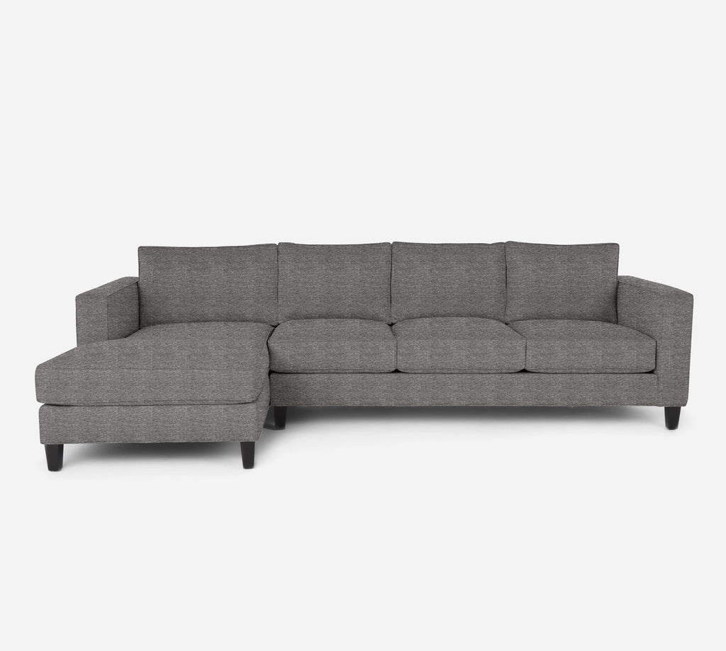 Remy LAF Chaise Sectional - Stardust - Fossil