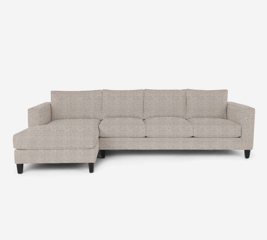Remy LAF Chaise Sectional - Stardust - Oatmeal