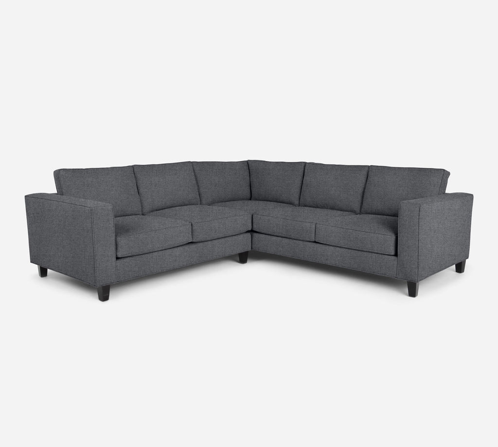 Remy LAF Corner Sectional - Coastal - Steel