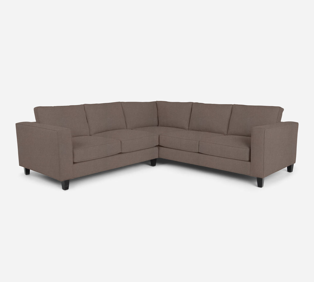 Remy LAF Corner Sectional - Heritage - Pebble