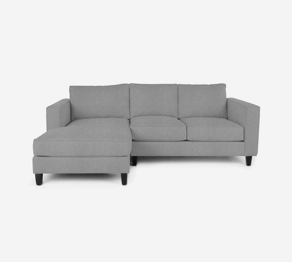 Remy Sectional Apartment Sofa w/ LAF Chaise - Coastal - Ash