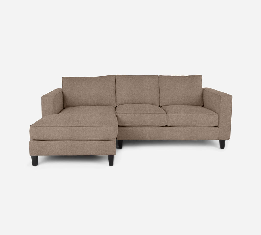 Remy Sectional Apartment Sofa w/ LAF Chaise - Coastal - Cashew