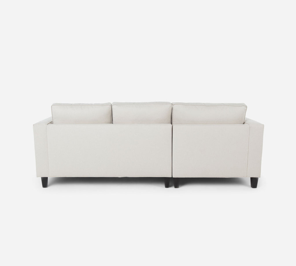 Remy Sectional Apartment Sofa w/ LAF Chaise - Dawson - Oatmeal