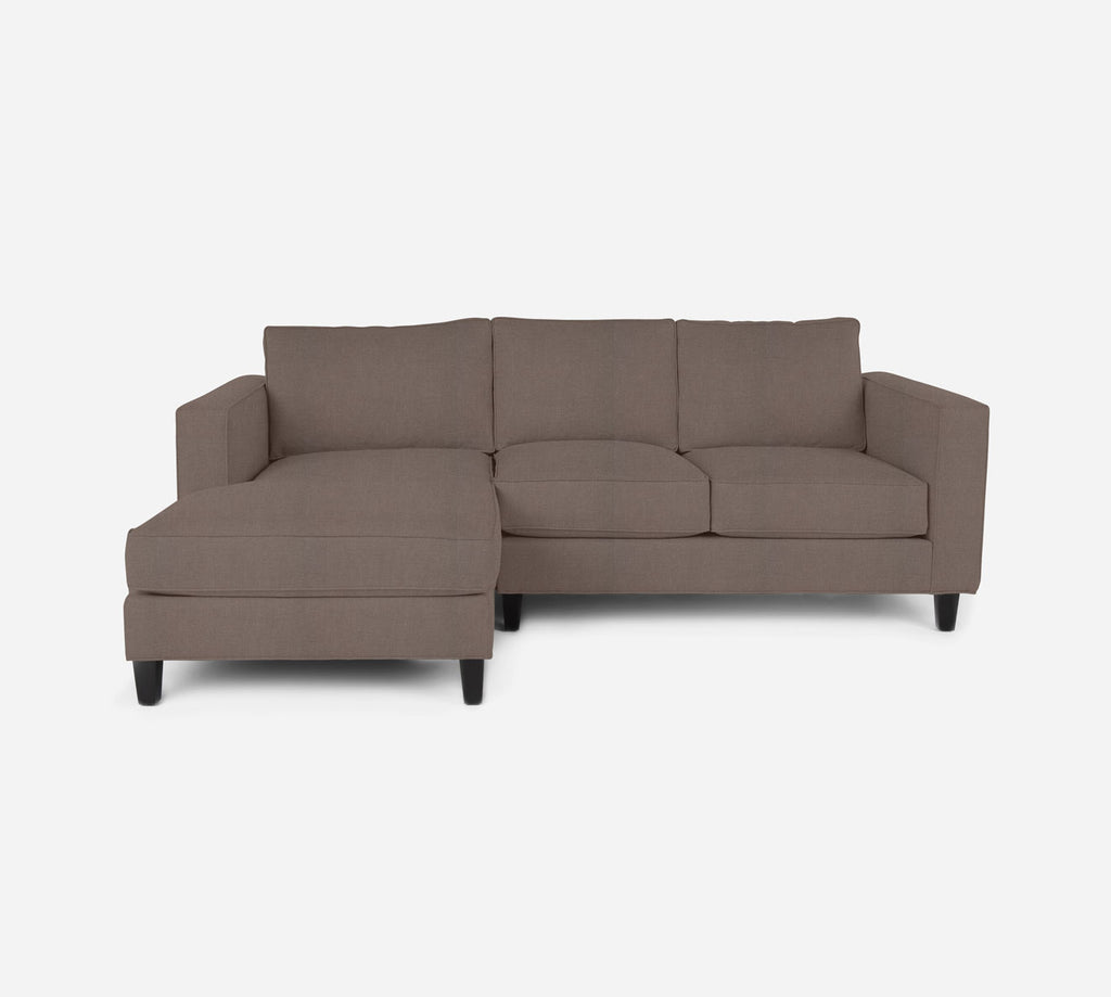 Remy Sectional Apartment Sofa w/ LAF Chaise - Heritage - Pebble