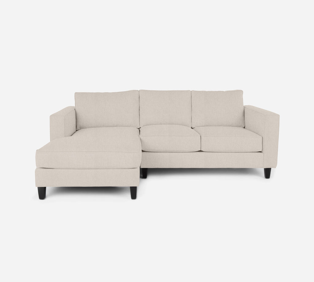 Remy Sectional Apartment Sofa w/ LAF Chaise - Kenley - Canvas