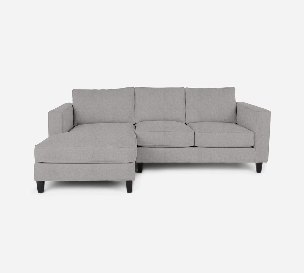 Remy Sectional Apartment Sofa w/ LAF Chaise - Kenley - Moondust