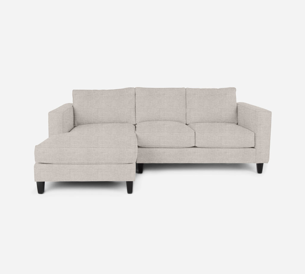 Remy Sectional Apartment Sofa w/ LAF Chaise - Key Largo - Oatmeal