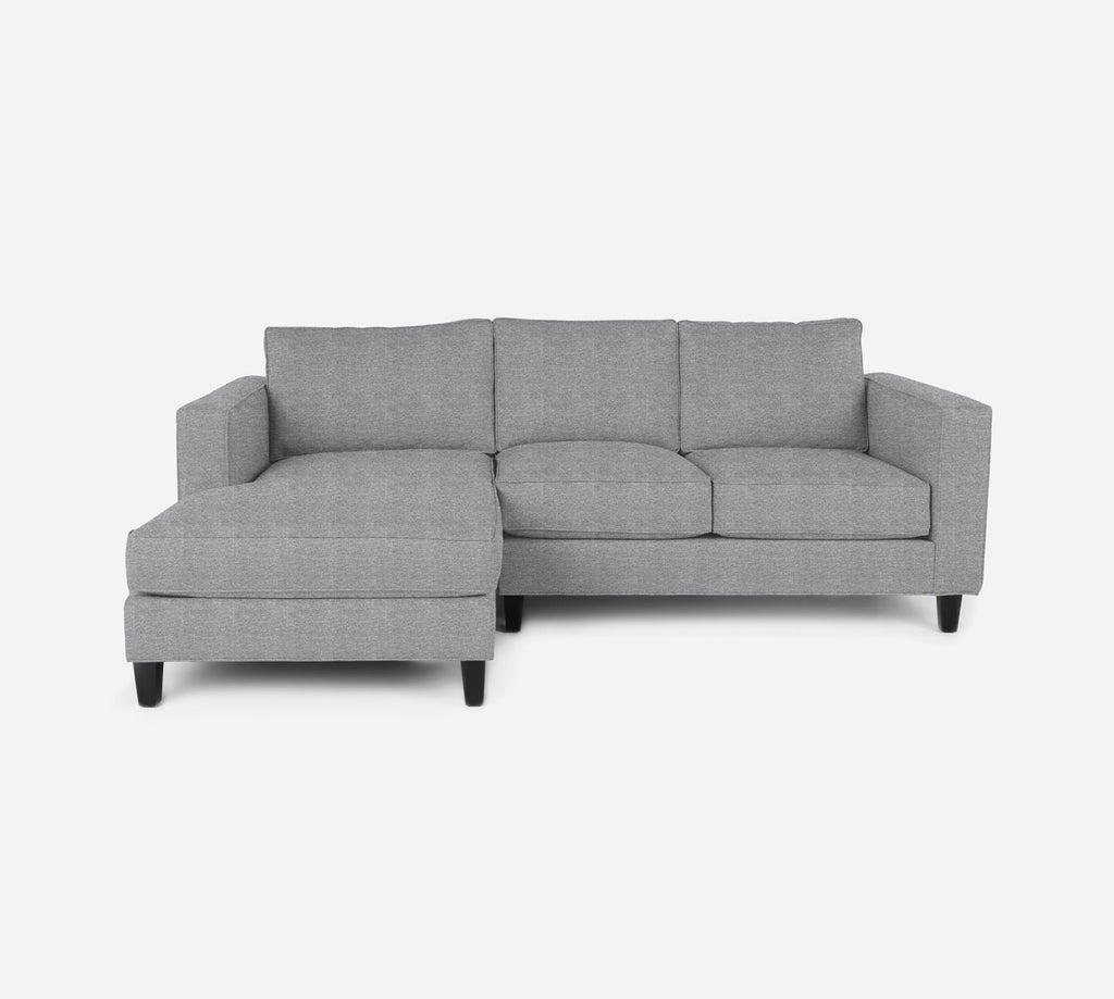 Remy Sectional Apartment Sofa w/ LAF Chaise - Stardust - Domino