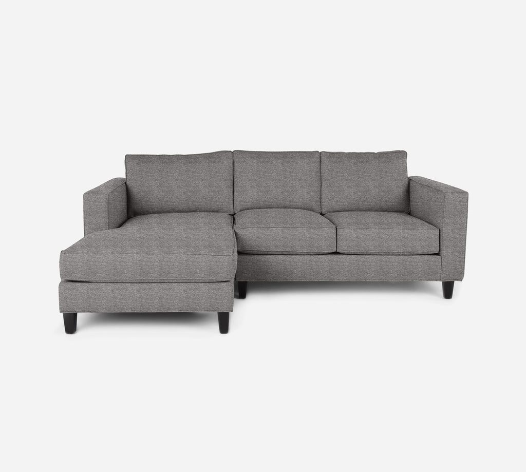 Remy Sectional Apartment Sofa w/ LAF Chaise - Stardust - Fossil