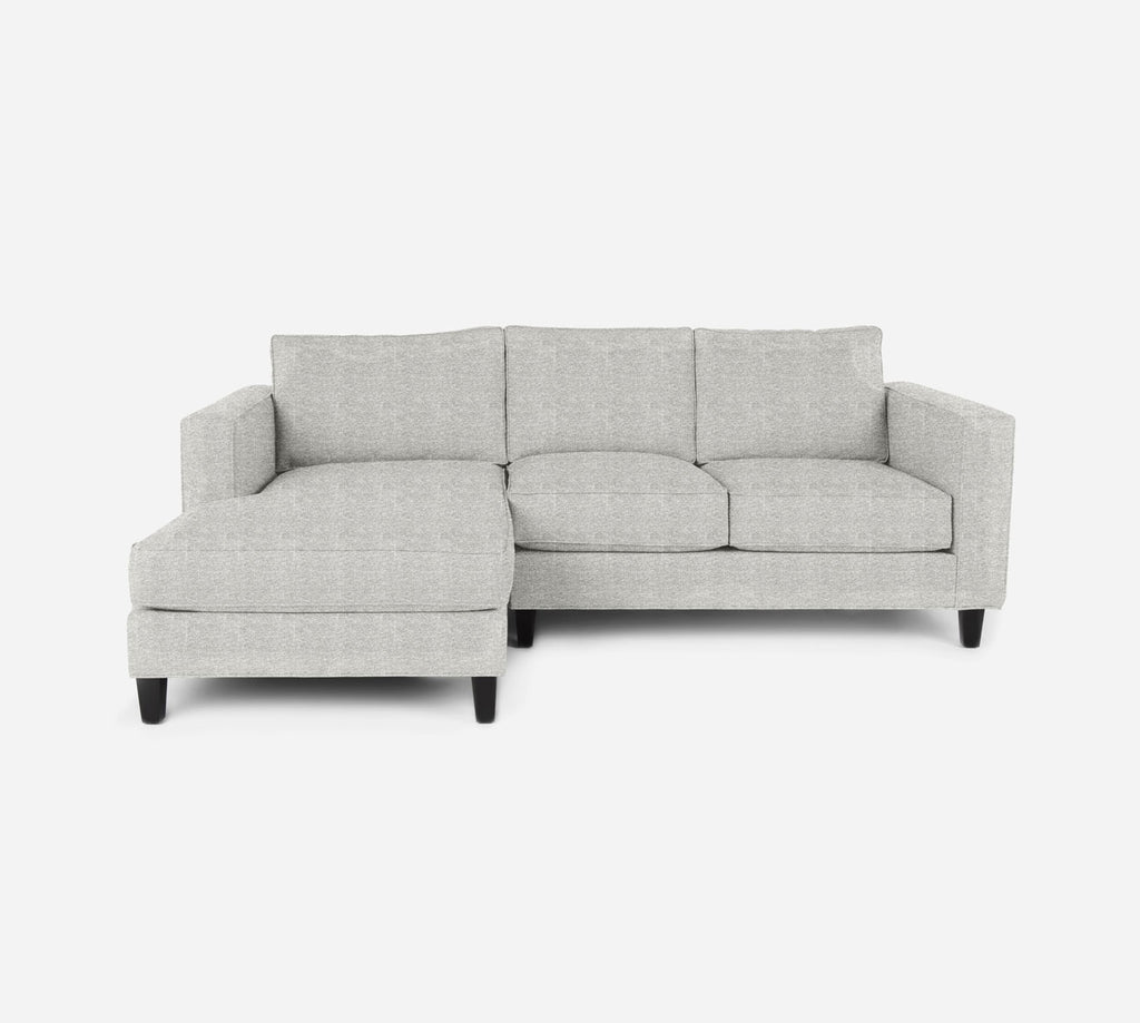 Remy Sectional Apartment Sofa w/ LAF Chaise - Stardust - Ivory