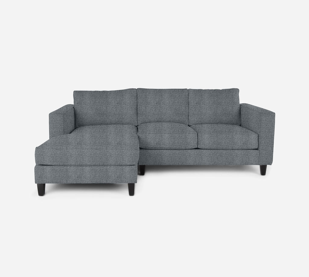 Remy Sectional Apartment Sofa w/ LAF Chaise - Theron - Haze