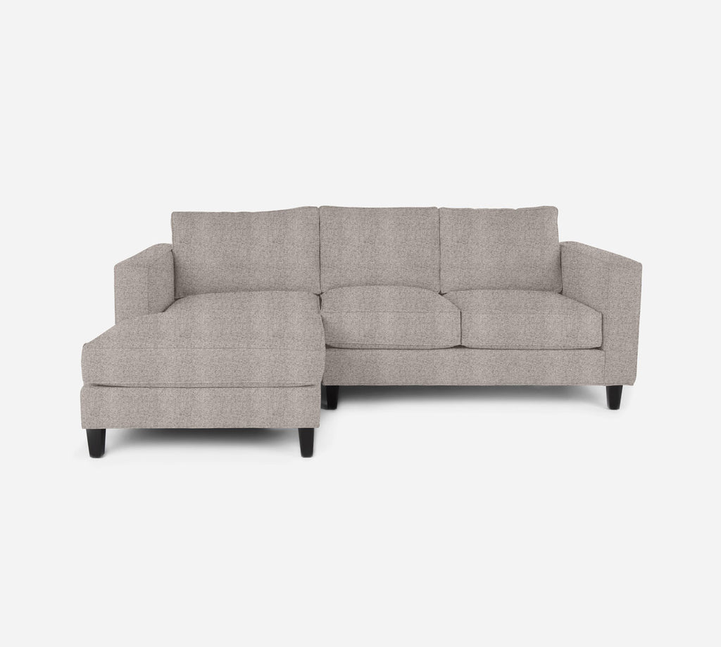 Remy Sectional Apartment Sofa w/ LAF Chaise - Theron - Oyster