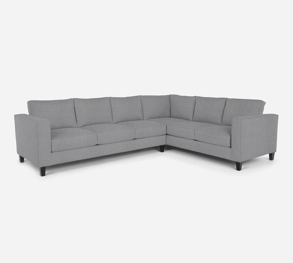 Remy LAF Large Corner Sectional - Coastal - Ash