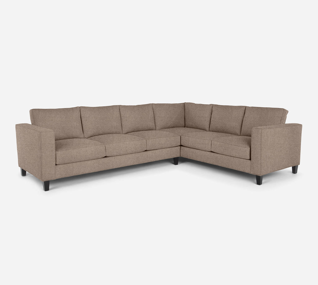 Remy LAF Large Corner Sectional - Coastal - Cashew