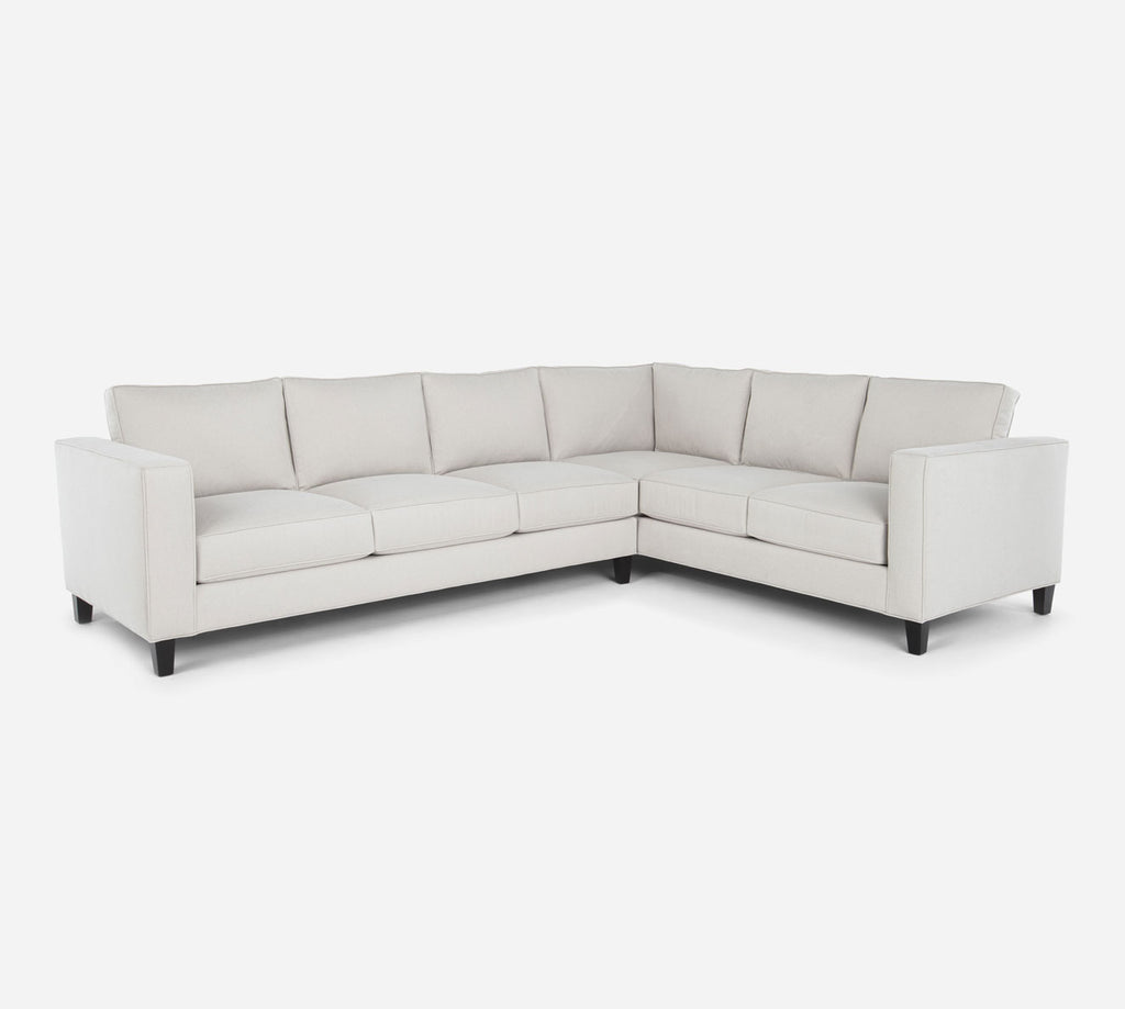 Remy LAF Large Corner Sectional - Dawson - Oatmeal