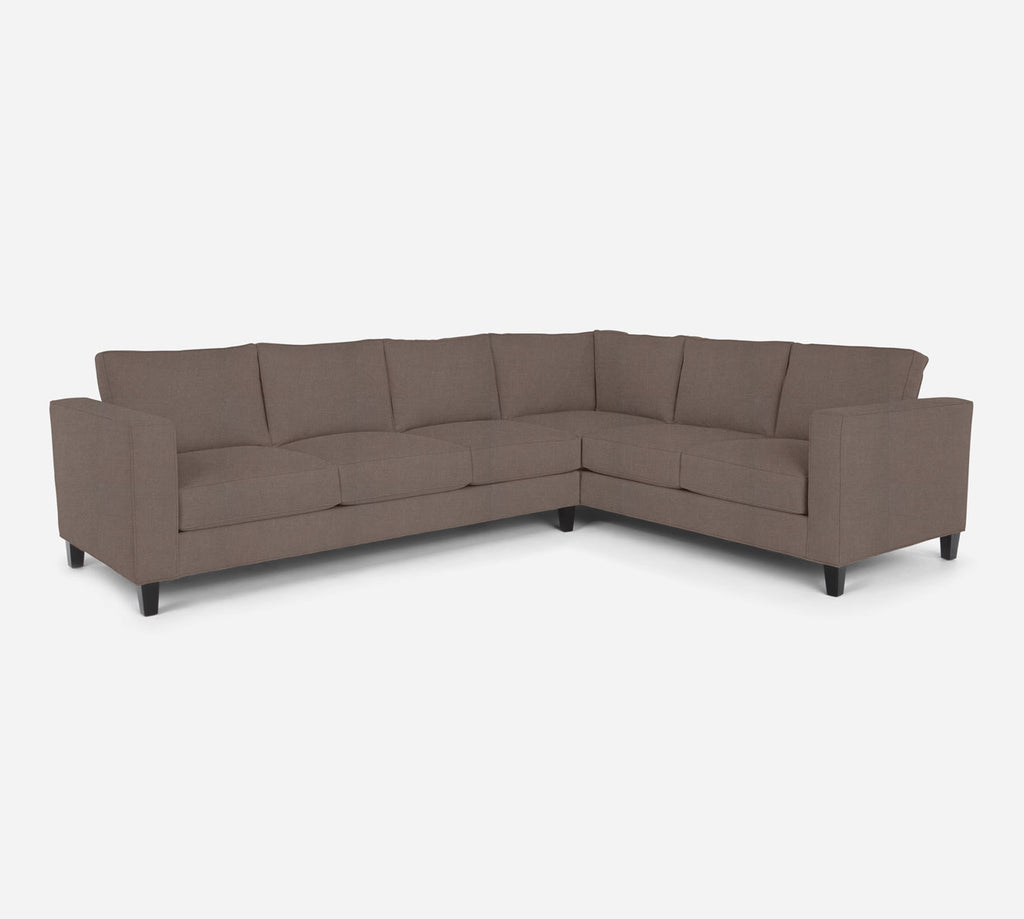 Remy LAF Large Corner Sectional - Heritage - Pebble